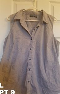 Apt. 9 Tops - Blouse button up dress shirt